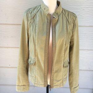 Anthropologie Hei Hei Front Zip Up Vasquez Jacket